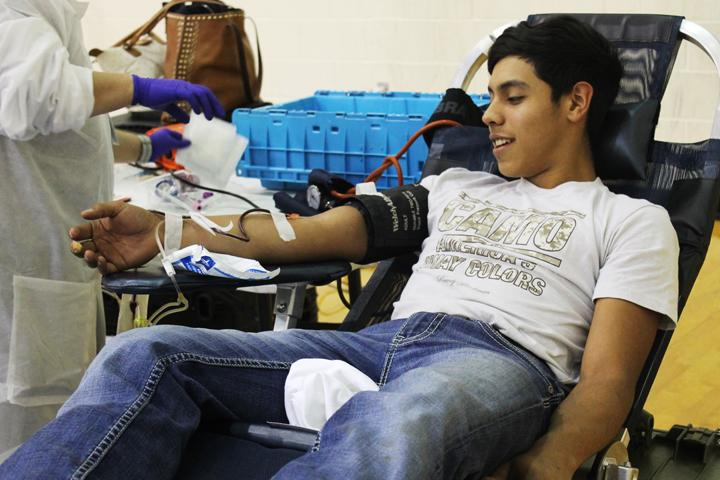 NHS hosts blood drive