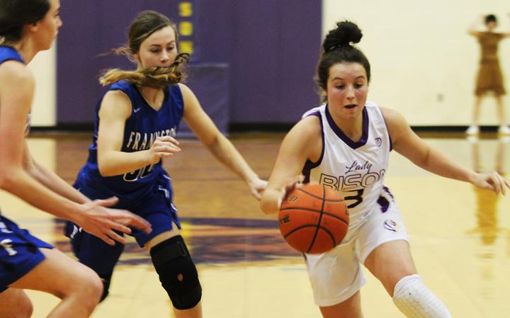 Lady Bison move to second half of district play