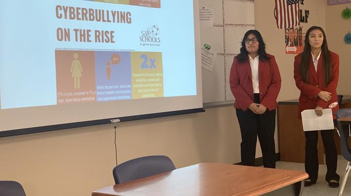 Students host leadership retreat