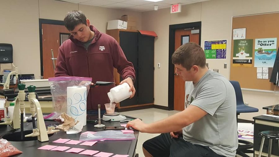Scientific studies students look to outer space for inspiration