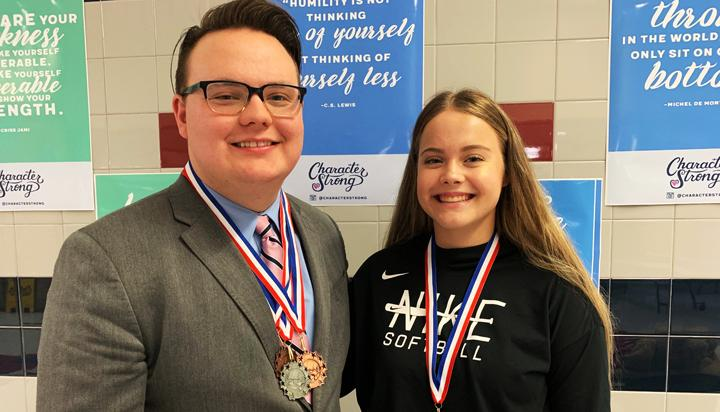 Menefee first BHS student to qualify for state TFA meet