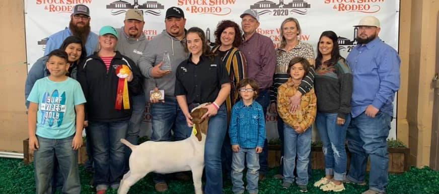 Reeder wins at Ft. Worth