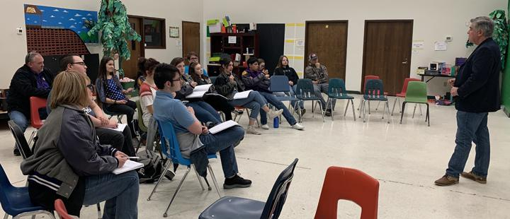 OAP group attends clinics
