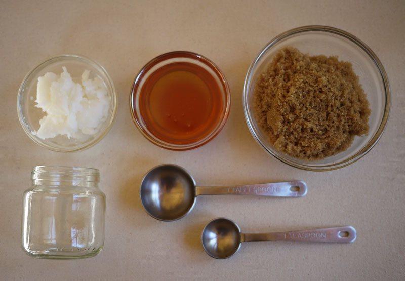 DIY Sugar Scrub