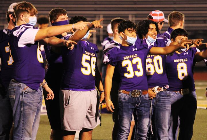 Homecoming pep rally moves to a community affair