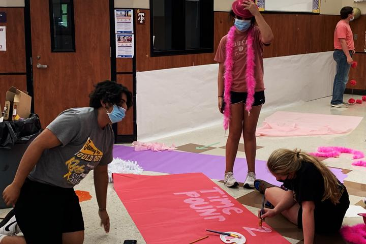 Students show spirit for Homecoming week